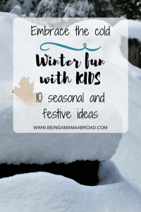 Winter Fun With Kids